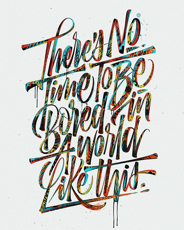 Remarkable Lettering and Typography Design for Inspiration - 27