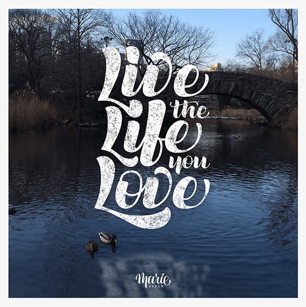 Remarkable Lettering and Typography Design for Inspiration - 32