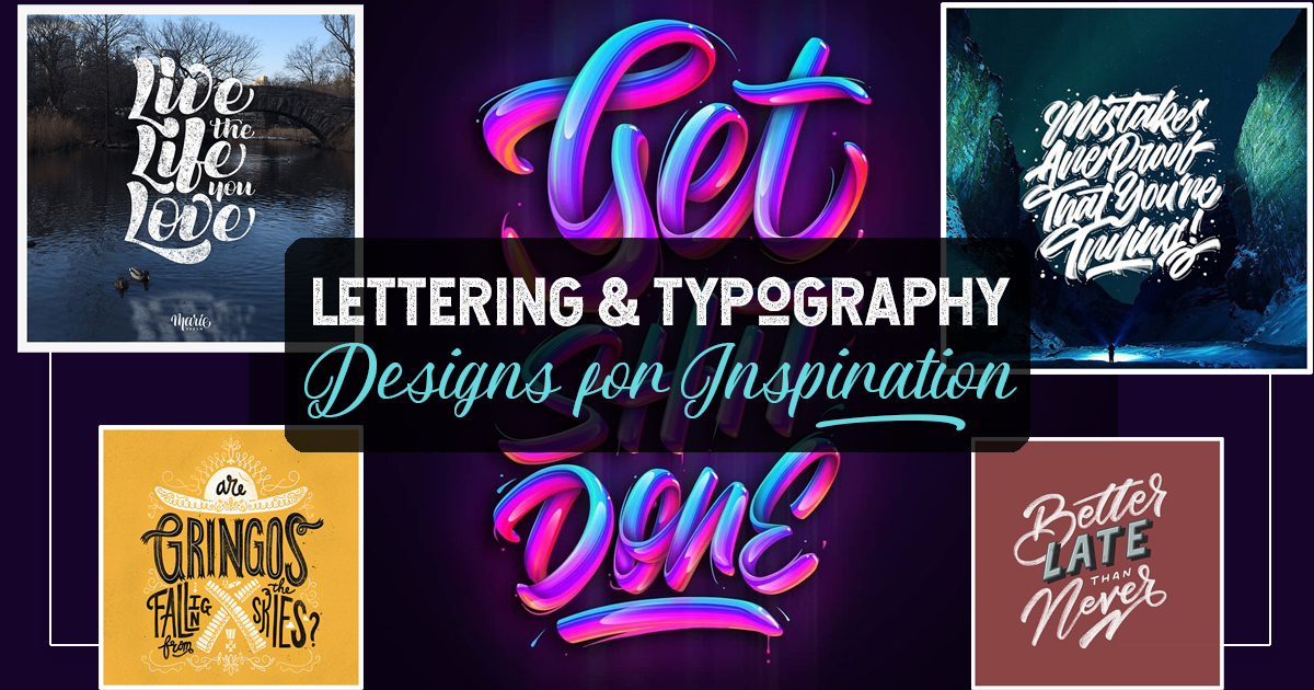 Remarkable Lettering and Typography Design for Inspiration