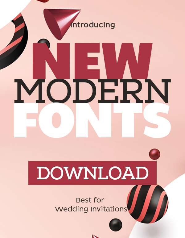 23 New Modern Fonts For Designers
