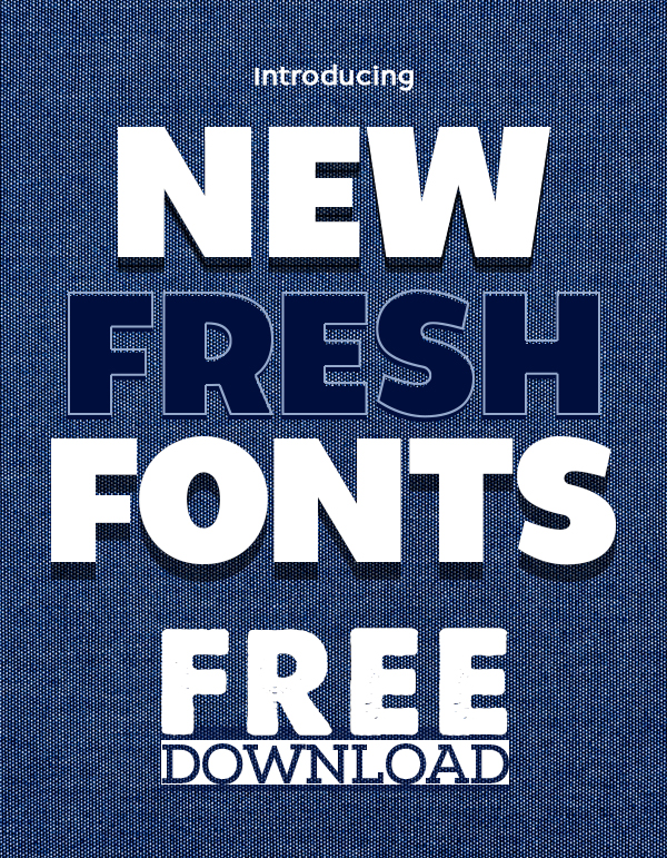 16 Fresh Free Fonts For Graphic Designers