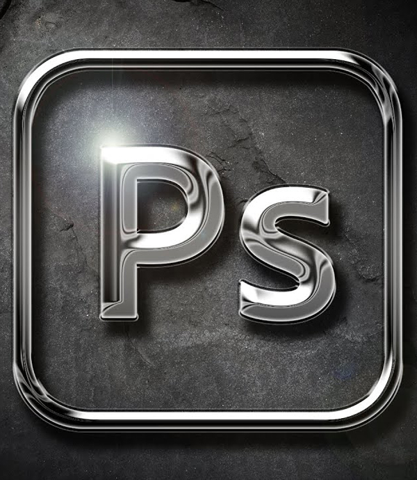 How to Turn your Logo into 3D Chrome in Photoshop Tutorial