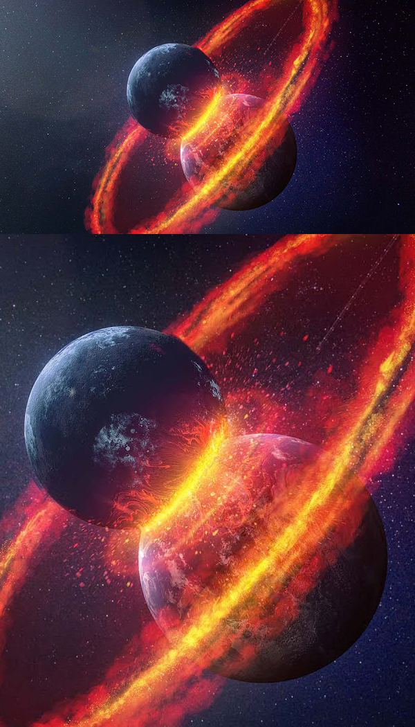How to Create Clash of the Planets Manipulation in Photoshop tutorial