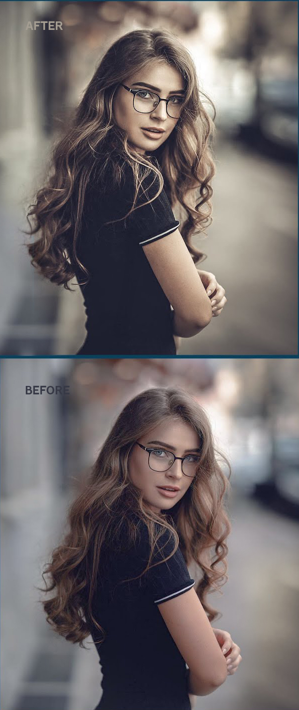 How to Create Moody / Vintage Color Grading in Photoshop Lightroom Tutorial