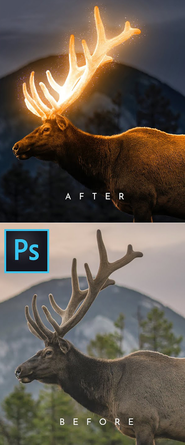 How to Create Professional Glow Effect in Photoshop Tutorial
