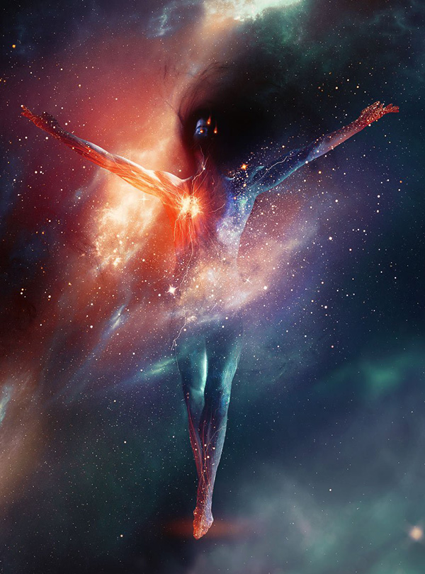 How to Create a Living Galaxy Photo Effect in Adobe Photoshop