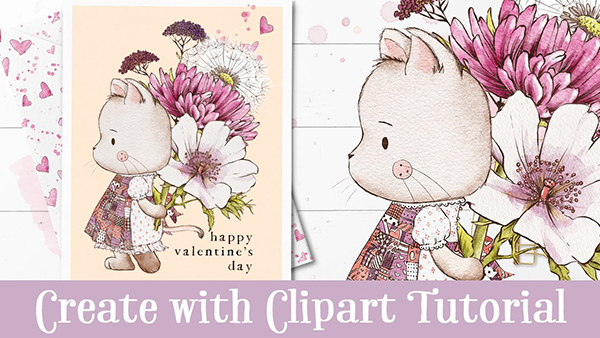 How to Create a Valentine's Day Card Clipart in Procreate Tutorial