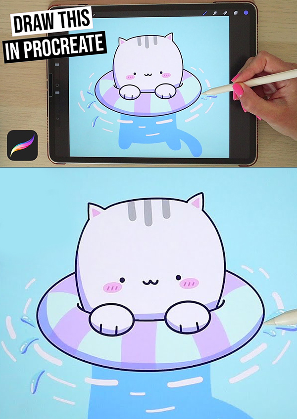Drawing for Beginners - Easy Step by Step Procreate Tutorial