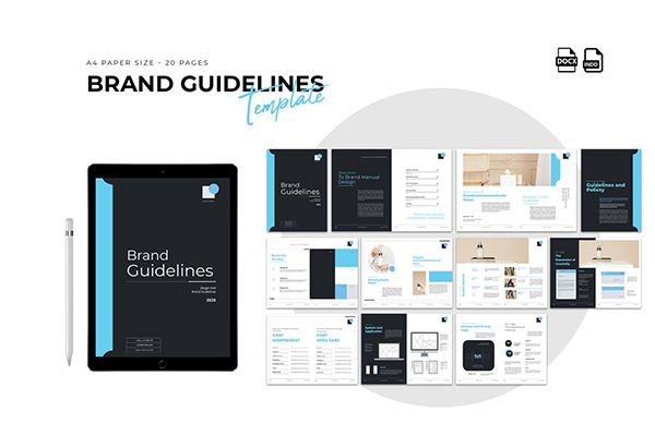Brand Guideline Proposal Template