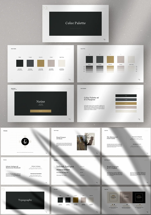 Awesome Brand Guideline Template