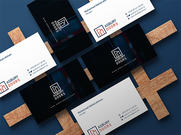 Real Estate Visual Identity Business Card Design