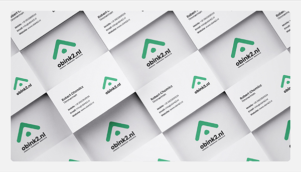 Awesome Brand Identity Business Card Design