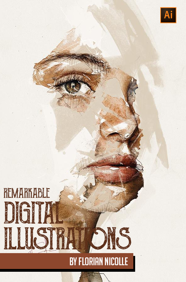 Remarkable Digital Illustrations by Florian NICOLLE