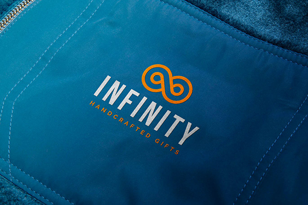 Logo Mockup with Unique Handcrafted Effect