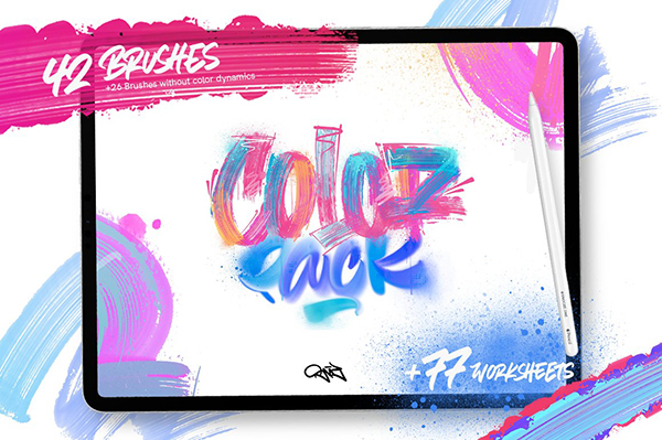 ColorPack - Paint Brushes