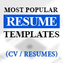 Post Thumbnail of Most Popular Resume Templates (30 Best Resumes)