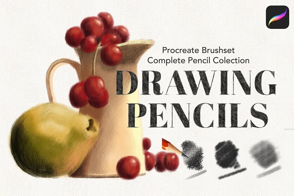 Procreate Pencil Drawing Collection
