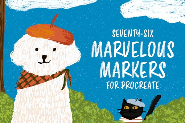 Marvelous Markers for Procreate