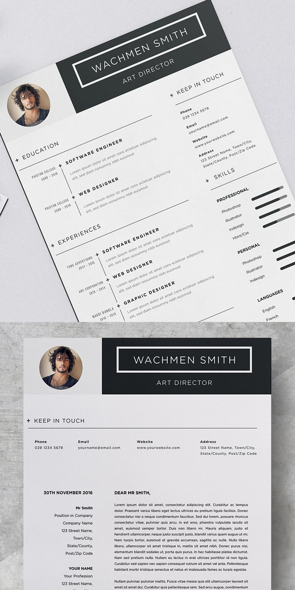 Best Resume Template for Word