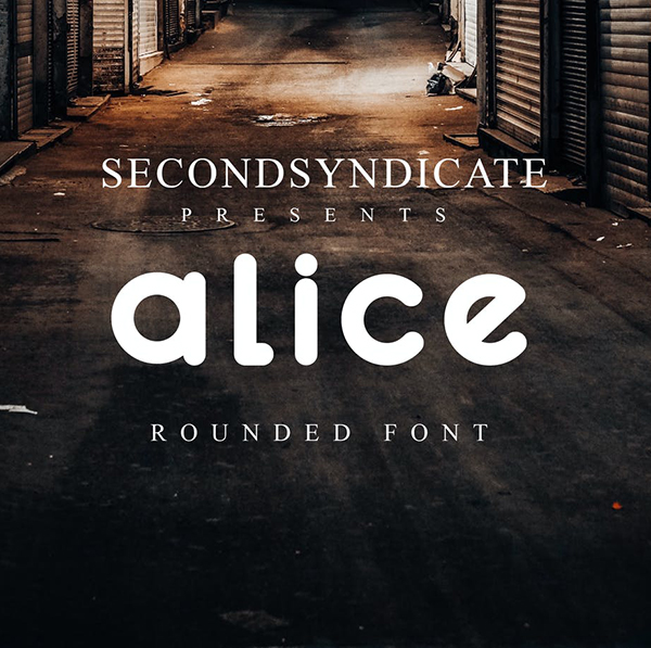 Alice Rounded Font