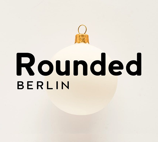 Berlin Rounded Sans Serif Display Typeface