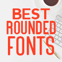 Post thumbnail of 42 Best Rounded Fonts