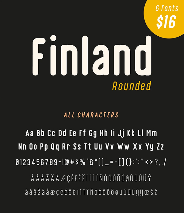 Finland Rounded Font