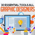 Post thumbnail of 10 Essential Tools All Graphic Designers Should Be Using
