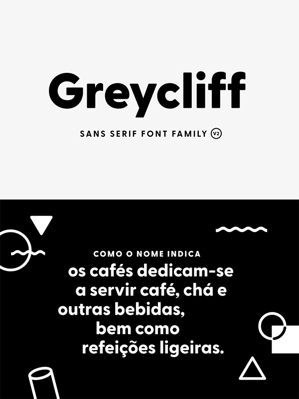 Greycliff Rounded Font