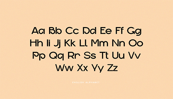 Gropled Display Font