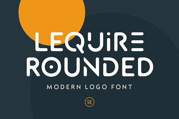 Lequire Rounded Modern Logo Font