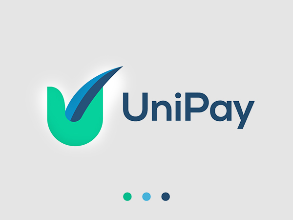 Payment app icon logo by winmids