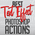 Post Thumbnail of 25 Best Text Effect Photoshop Actions