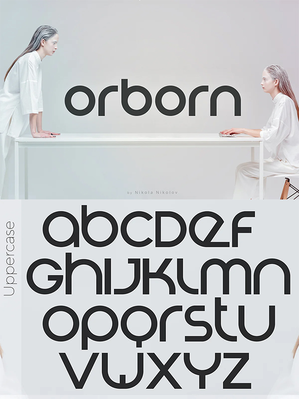 Round Futuristic Rounded Font