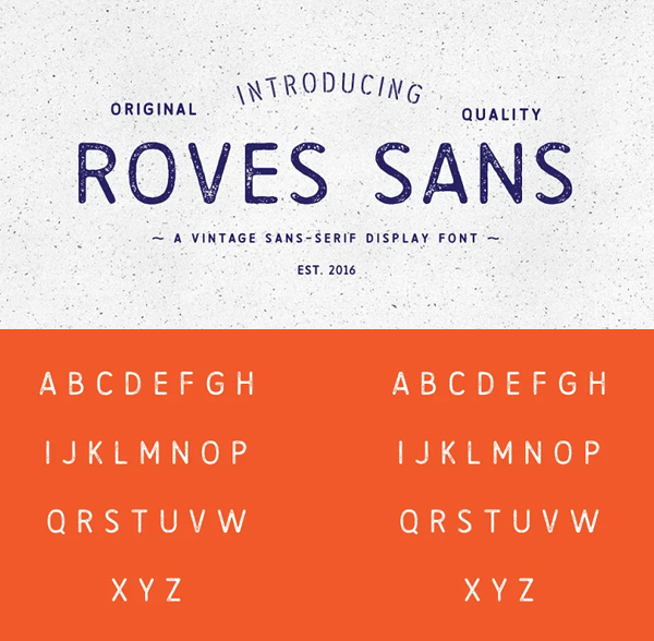 Roves Sans Rounded Font