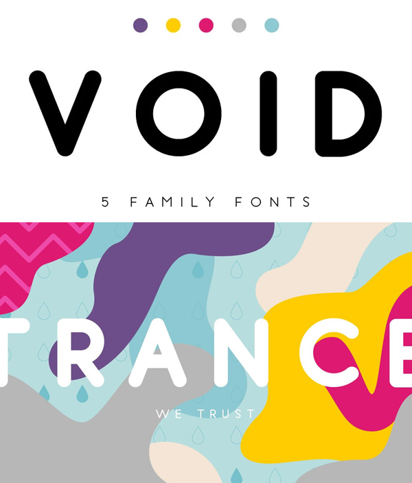 Void Rounded Font
