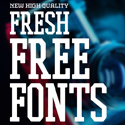 Post thumbnail of 19 New Fresh Free Fonts For Graphic Designers